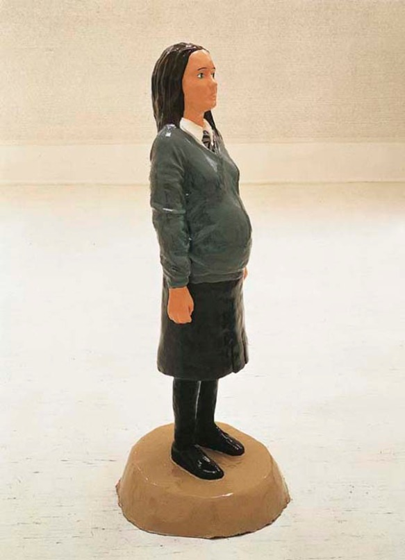 Untitled (Pregnant Schoolgirl)