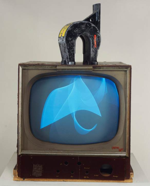 Nam June Paik, TV and Magnet, 1965