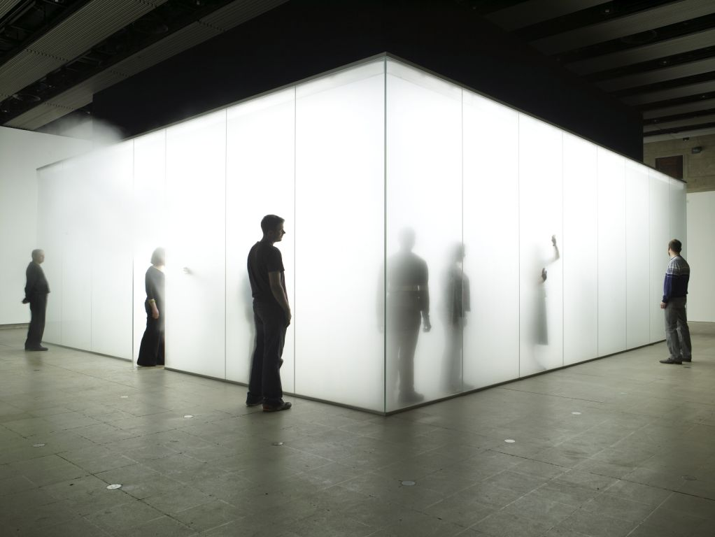 Exhibition Stand White : Lost in the fog image object text