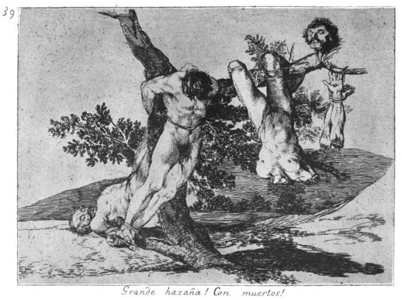 Francisco José de Goya y Lucientes Plate 39 from The Disasters of War 1810–20 (first pub. 1863)