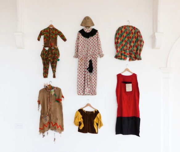 Costumes worn by Bruce Lacey as a child in the 1930s/early 1940s