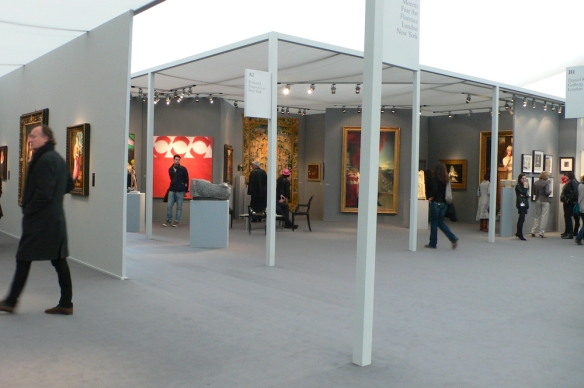 Frieze Masters, Regent's Park, London