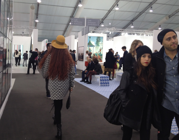 Frieze Art Fair, London – October 2012, Regent's Park