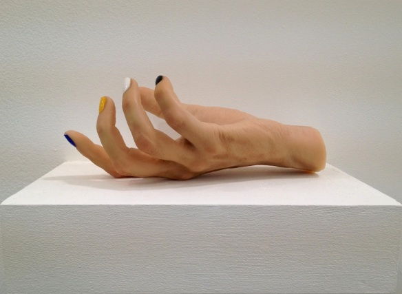 Gillian Wearing, My Hand, 2012 (mixed media)