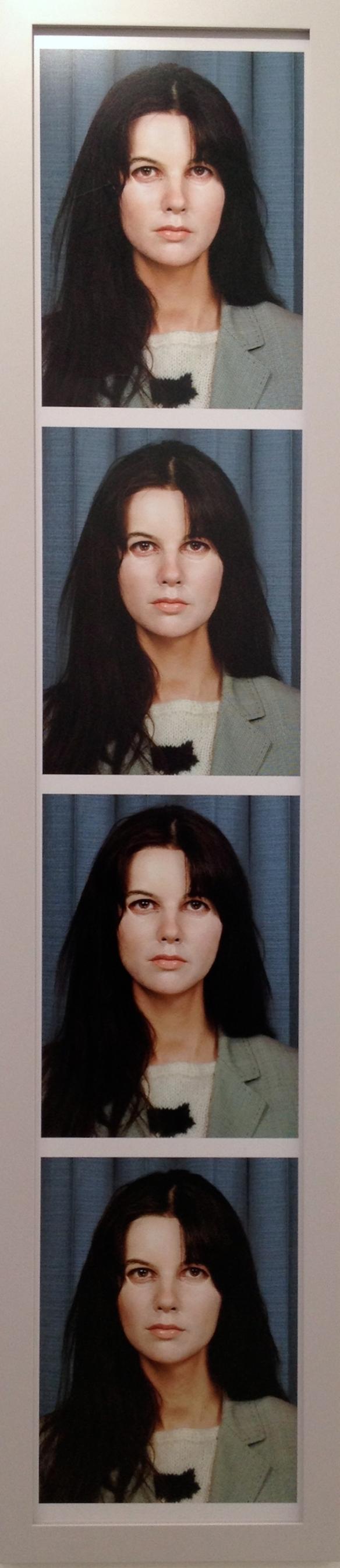 Gillian Wearing, Self Portrait at Twenty Seven Years Old, 2012