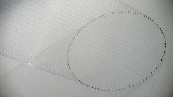 Lygia Pape, Tteia 1, B (prata-lunar), 2000/12 at Frieze Masters