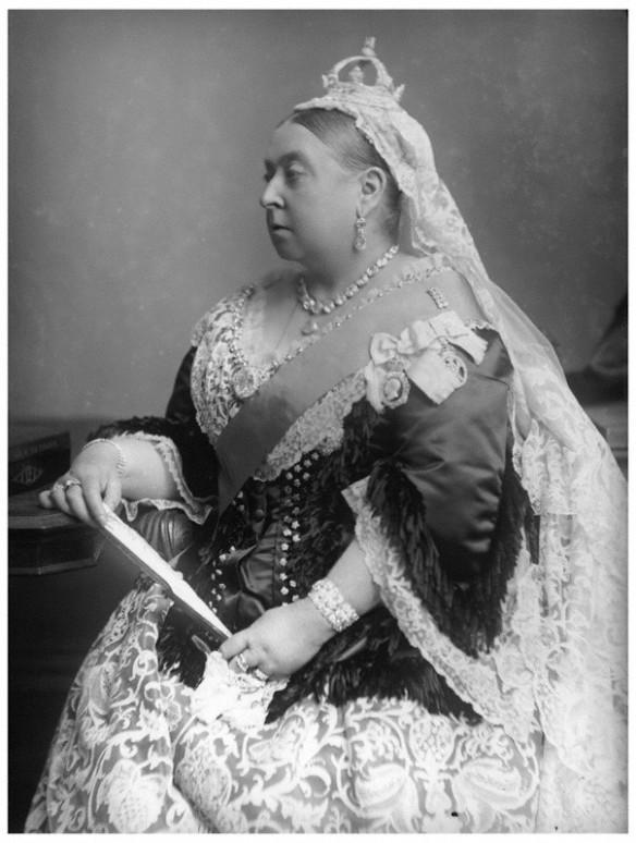 NPG x95819; Queen Victoria by Alexander Bassano