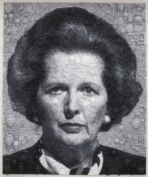 Marcus Harvey, Margaret Thatcher, 2009