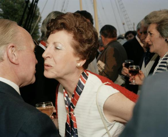 Martin Parr, Election Party on board the SS Great Britain, 1988