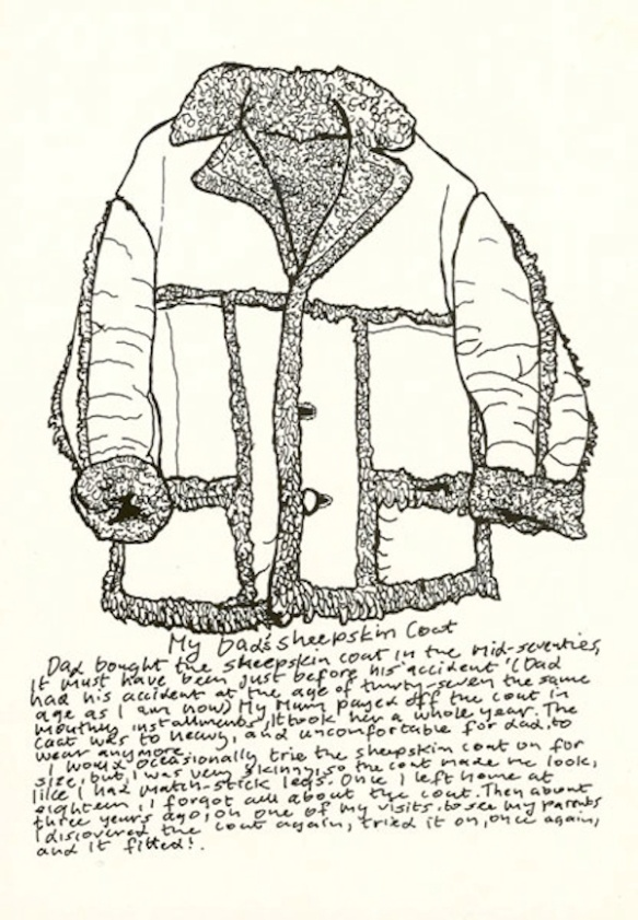 Landy - Sheepskin drawing