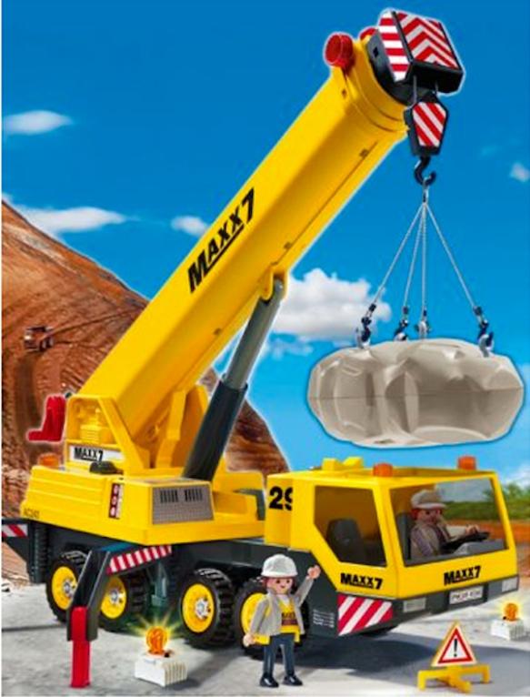 Playmobile crane