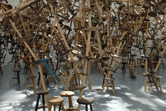 Ai Weiwei, Bang, 2013 (installation in the German Pavilion at the 55th Venice Biennale)
