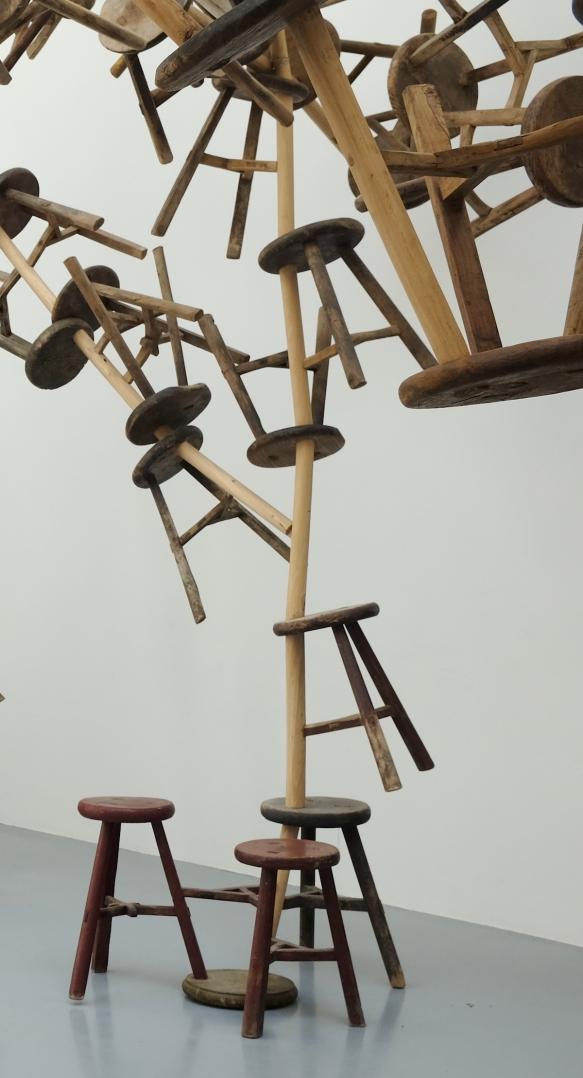 Ai Weiwei, Bang, 2013 (detail)