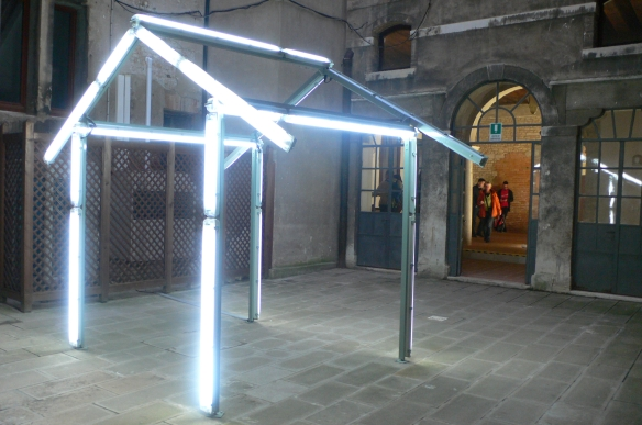 Bill Culbert, HUT made in Christchurch, 2012