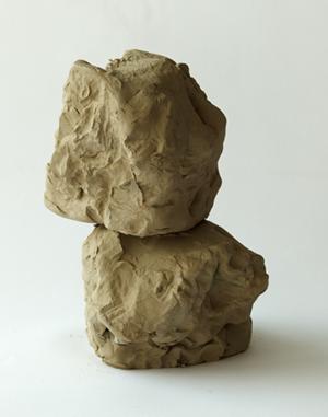Fischli Weiss Rock - clay multiple 2012-13