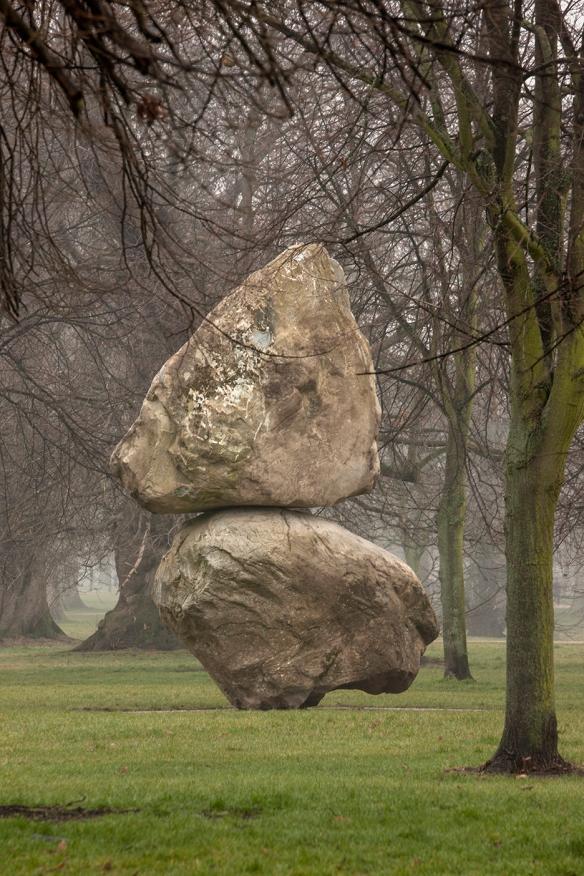 Fischli/Weiss Installation view, Rock on Top of Another Rock 2013 Serpentine Gallery, London (7 March 2013 - 6 March 2014) © Peter Fischli David Weiss Photograph: 2013 Morley von Sternberg