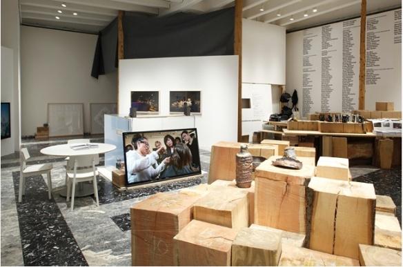 installation view of Japan Pavilion, Venice 2013
