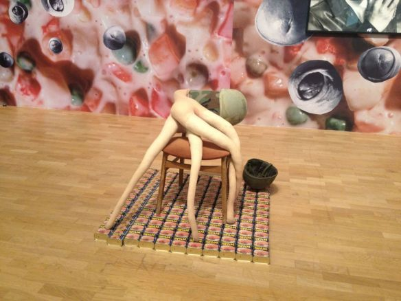 Sarah Lucas – SITUATION: Absolute Beach Man Rubble – Whitechapel Gallery, London – 2013