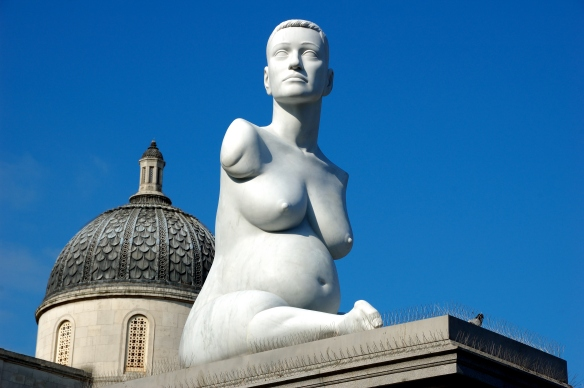 Marc Quinn, Alison Lapper Pregnant, 2005 (Fourth Plinth, Trafalgar Square)