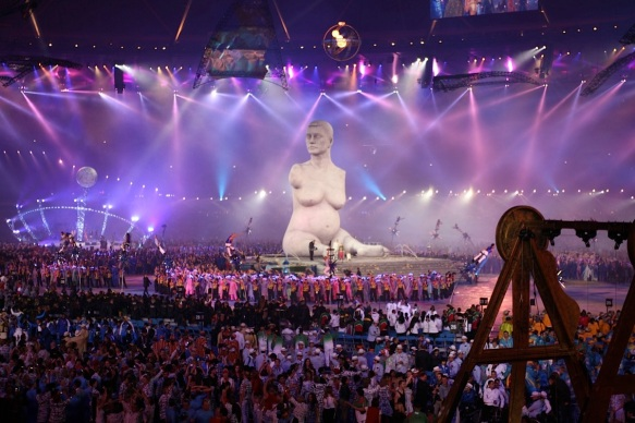 Marc Quinn, Breath, 2012 (Paralympics opening ceremony, London 2012)