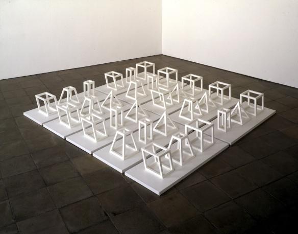 LeWitt Geometric Structures 1979