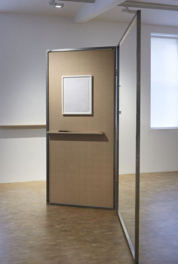 Jack Brindley, Partition I, 2013 installed at Pippy Houldsworth Gallery