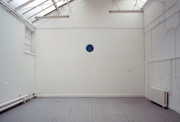 Gavin Turk, Cave, 1991 (installed at the RCA)