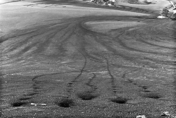 Richard Long, Five Stones, Iceland 1974