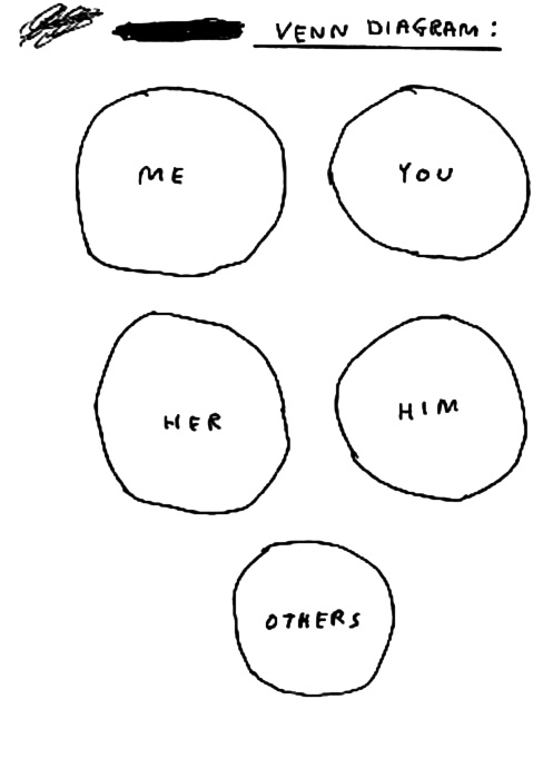 David Shrigley, Venn Diagram